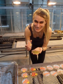 Verena tests effects of herbicides on seed germination
